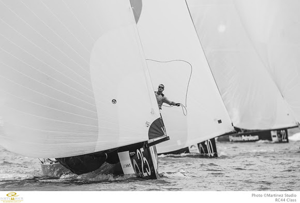 RC44 Bermuda Cup - Fleet Racing March 4 2016