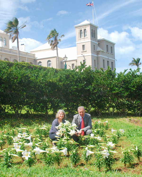 The Governor and Mrs Fergusson Bermuda March 23 2016