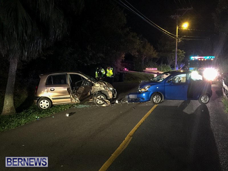 Two Car Accident Bermuda, March 19 2016-8