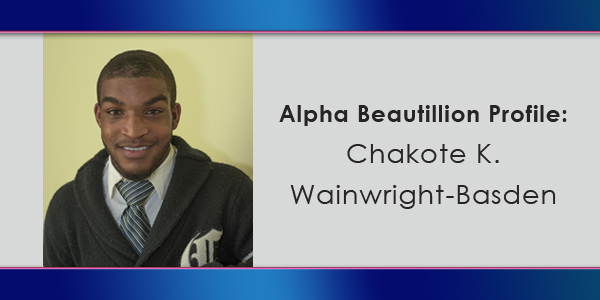 Beautillion Chakote K. Wainwright-Basden TC