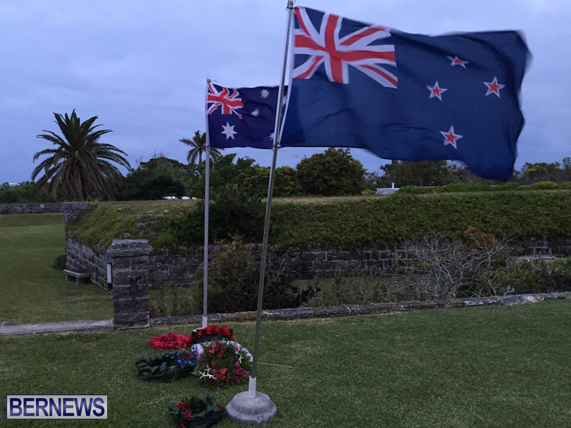 Bermuda AUS NZ Anzac Day service april 2016 (5)
