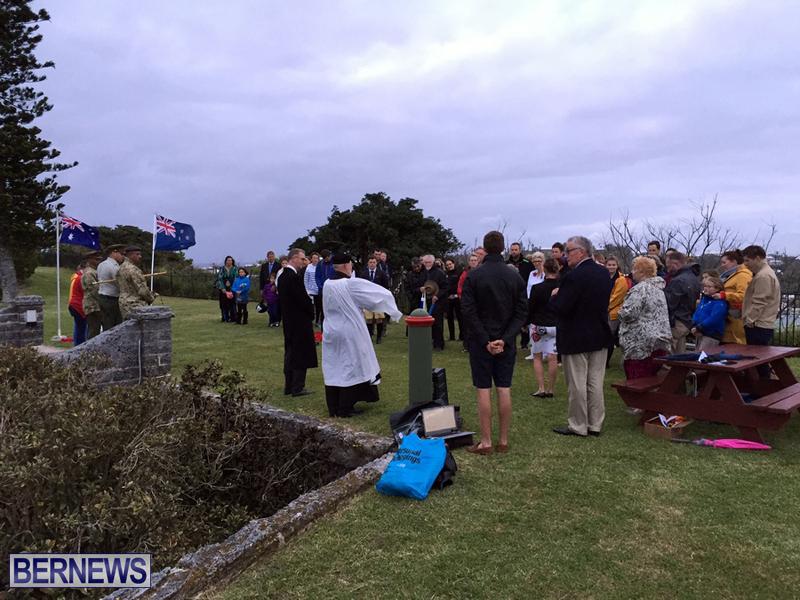 Bermuda AUS NZ Anzac Day service april 2016 (7)