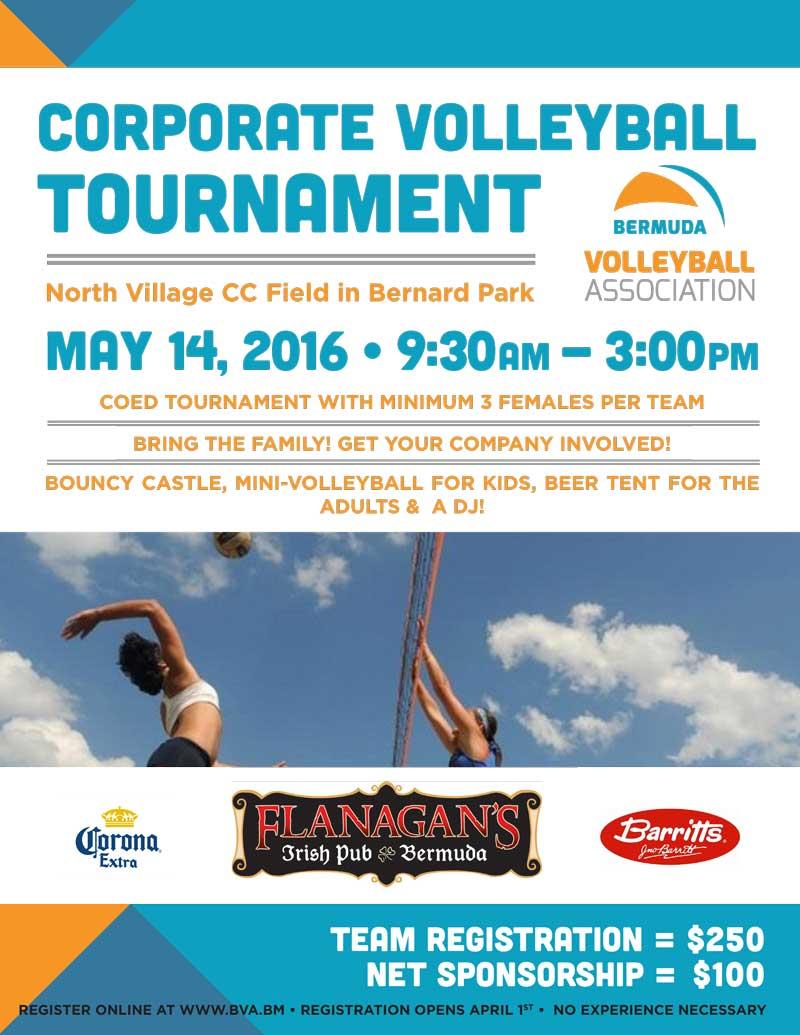 Corporate Tournament Poster 2016