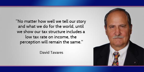 David Tavares Bermuda April 7 2016