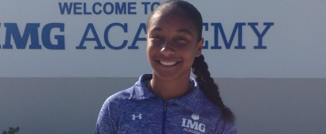 Leah Smith IMG Student Athlete of the week Bermuda April 30 2016