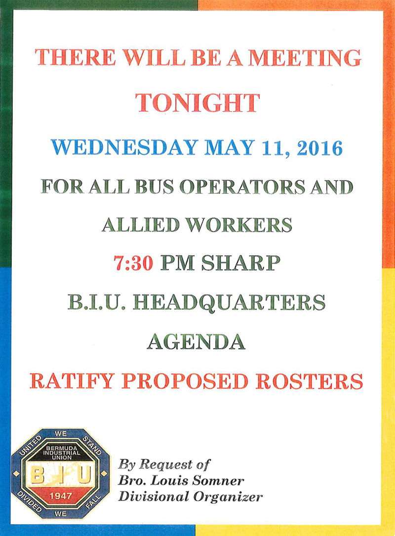 BIU Meeting May 11 2016