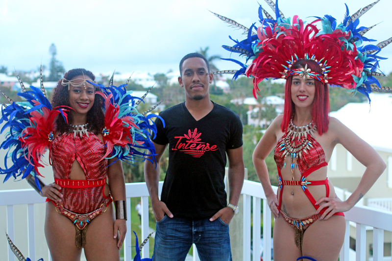 DJ Rusty G's band Intense Bermuda May 17 2016