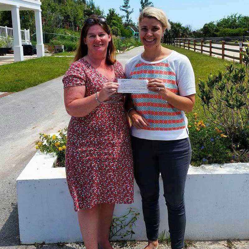 IWC Of Bermuda Presents Windreach With $6000 Grant 01