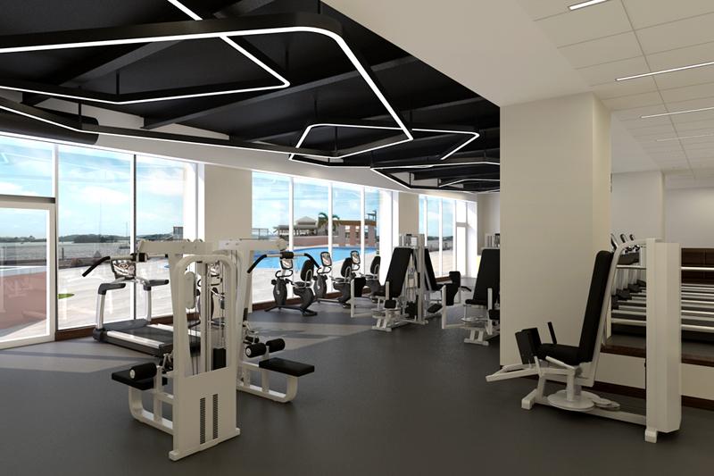 New Gym Bermuda May 26 2016