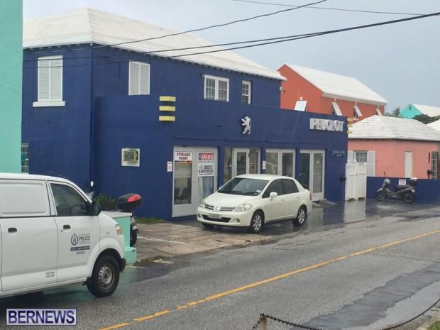 Police Peugeot Car Bermuda May 6 2016