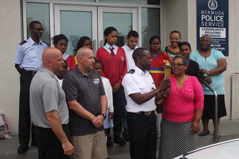 Police and Fire Donate Bermuda May 12 2016 (3)