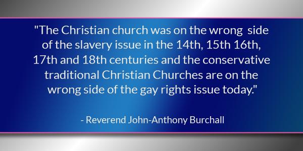 Reverend John-Anthony Burchall May 30 2016