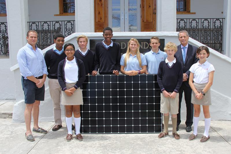 saltus solar panel Bermuda May 26 2016