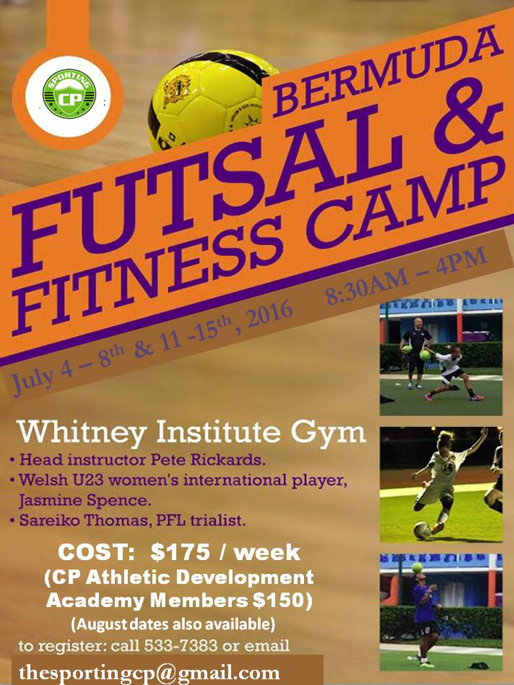 2016 Futsal and Fitness Camps Bermuda June 21 2016
