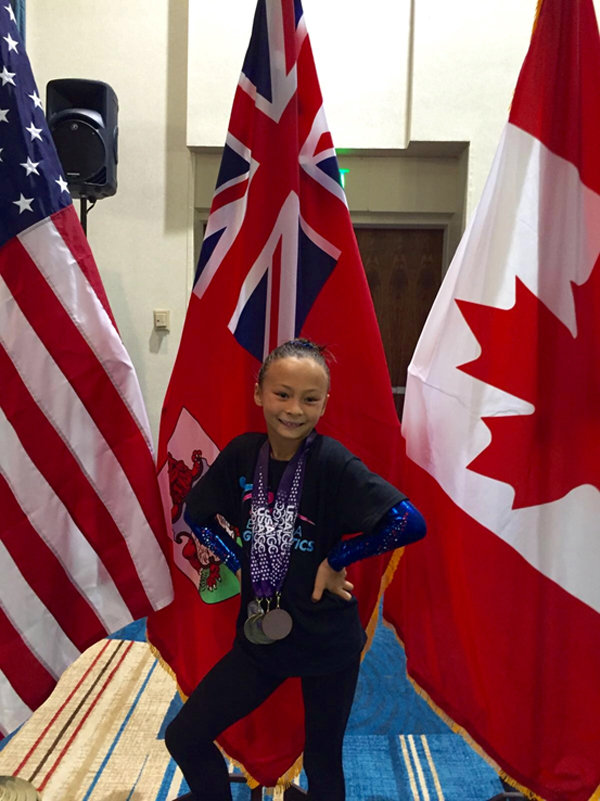 Bella 2016 Worlds Medals Bermuda June 26 2016