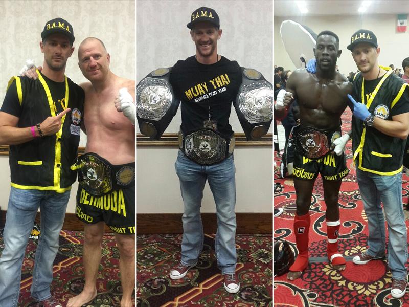 Bermuda Fight Team June 22 2016 2