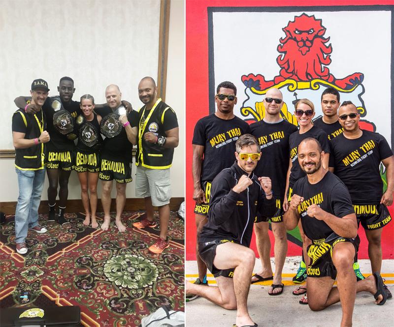 Bermuda Fight Team June 22 2016