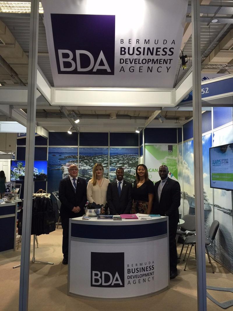 Bermuda Shipping Showcased In Greece June 2016 - booth