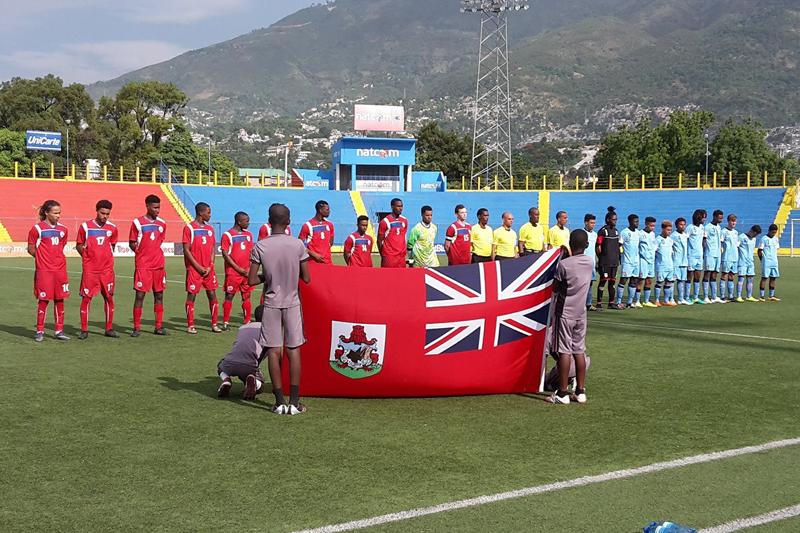 CFU Under 20 In Haiti Bermuda June 30 2016