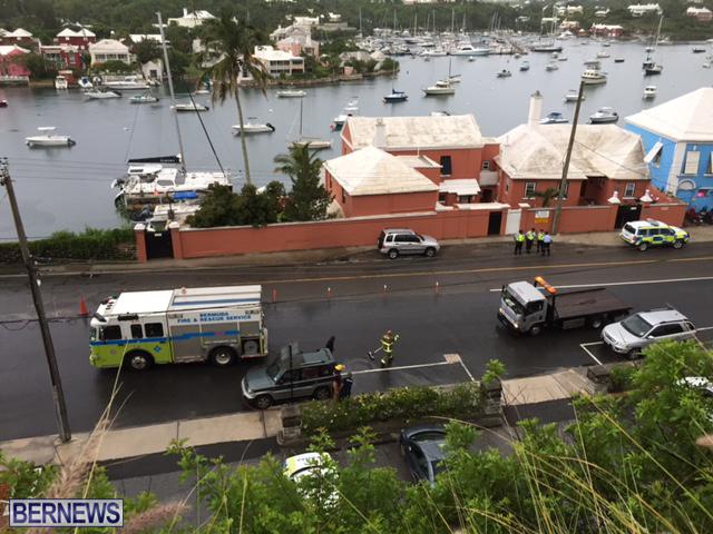 Collision Bermuda June 19 2016