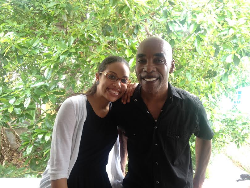Gaynete Edwards and dad Bermuda (1)