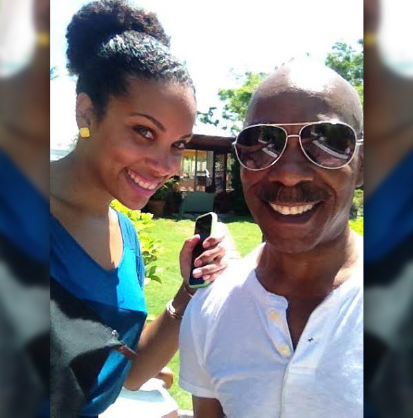 Gaynete Edwards and dad Bermuda (3)