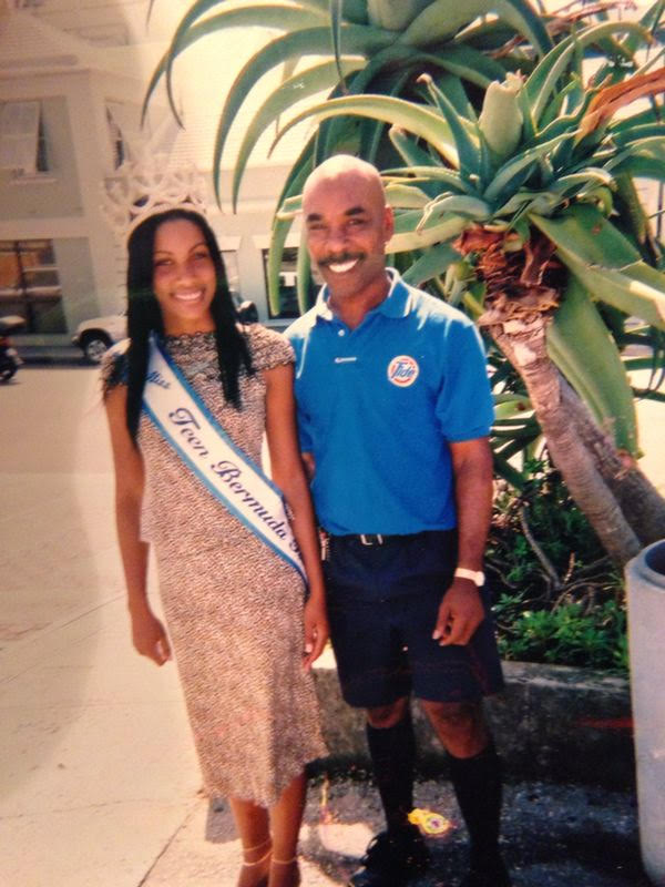 Gaynete Edwards and dad Bermuda (4)