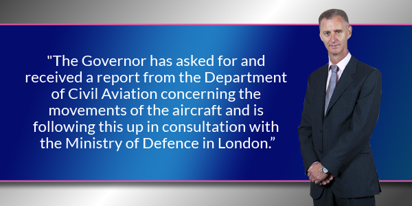 Governor George Fergusson Bermuda June 29 2016