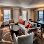 Hamilton Princess Bermuda June 2016 Gold Lounge Suite
