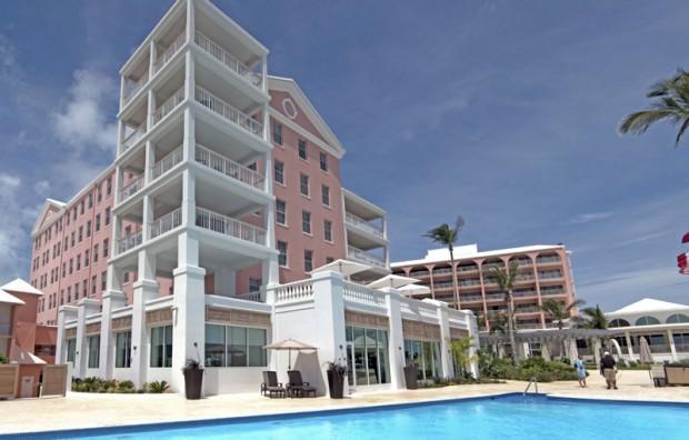 Hamilton Princess Bermuda June 2016 Hotel Exterior