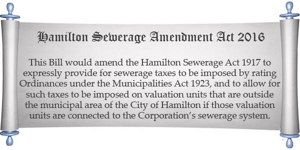 Hamilton sewage bill 2 2016