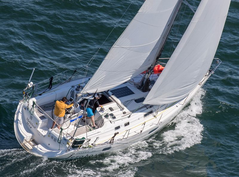 Jeroboam skippered by Jonathan Green Bermuda June 18 2016