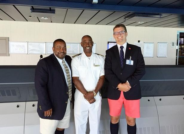 Minister on cruise ship Bermuda June 14 2016 2
