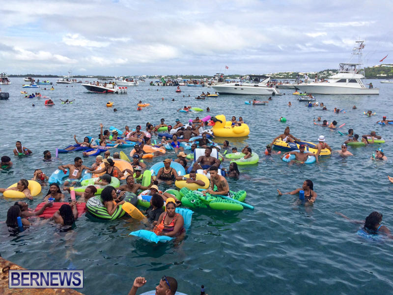 Raft Up Bermuda Heroes Weekend, June 2016-1