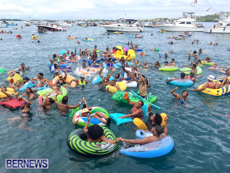 Raft Up Bermuda Heroes Weekend, June 2016-2