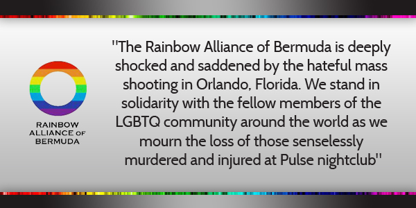 Rainbow Alliance of Bermuda June 13 2016