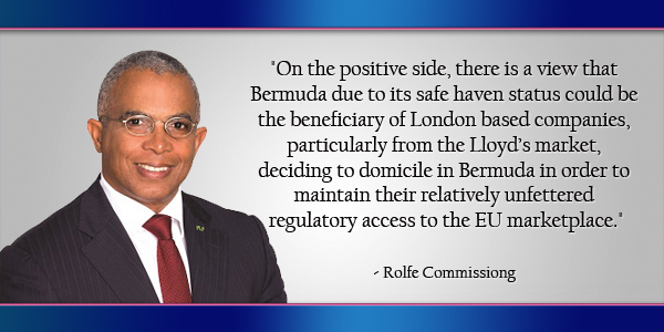Rolfe Commissiong Bermuda June 30 2016