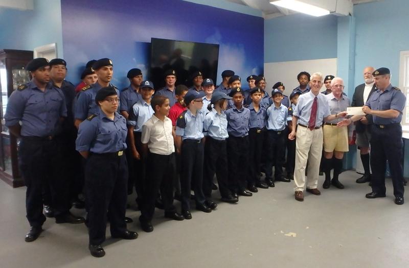 Sea Cadet Award Bermuda June 4 2016 (4)