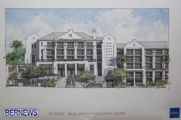 St Regis St George's Hotel Development Town Hall Bermuda, June 9 2016-11