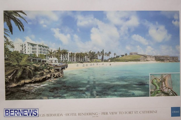 St Regis St George's Hotel Development Town Hall Bermuda, June 9 2016-16