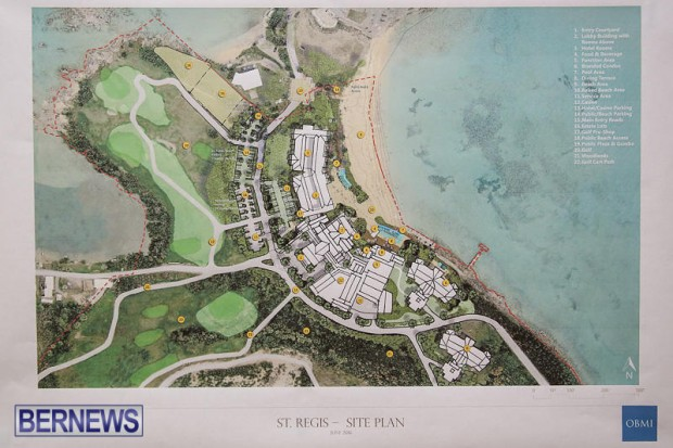 St Regis St George's Hotel Development Town Hall Bermuda, June 9 2016-9