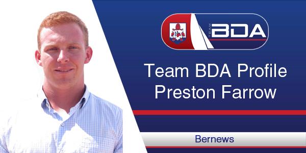 Team BDA Profile Preston Farrow