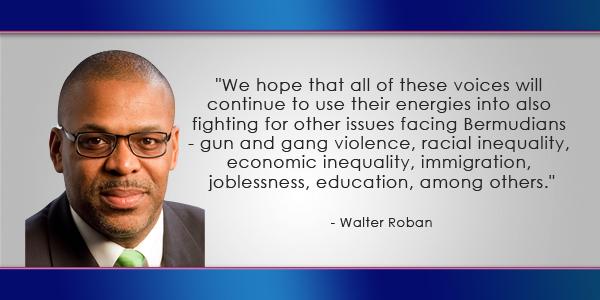 Walter Roban Bermuda June 24 2016