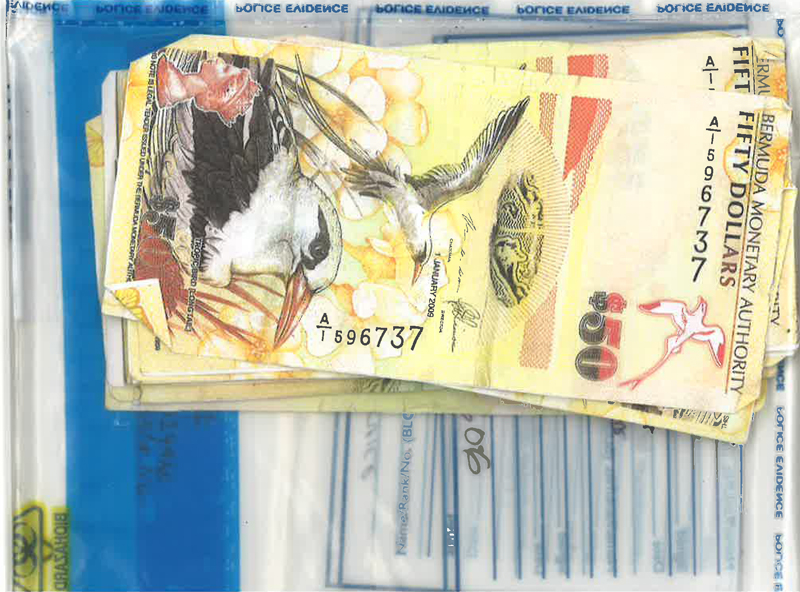 counterfeit Bermuda $50 dollars notes June 2 2016
