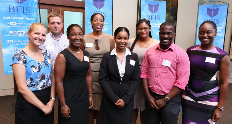 Alumni Cmte and Scholar -  Bermuda July 2016
