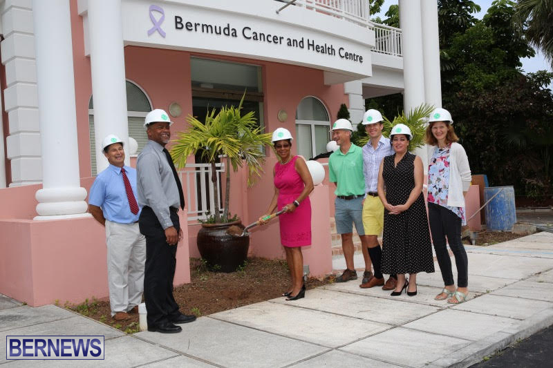 BCHC Radiation Therapy Treatment Facility ground breaking Bermuda July 14 2016 (2)