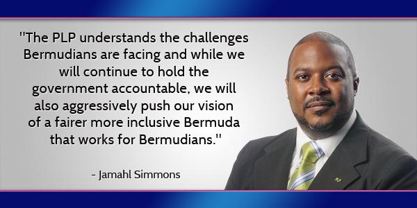 Jamahl Simmons Bermuda July 21 2016