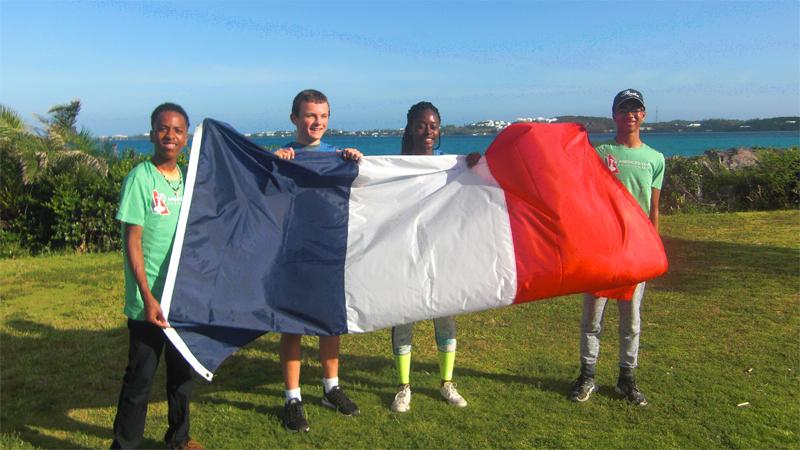 L'Aliiance Française des Bermudes Bermuda July 4 2016