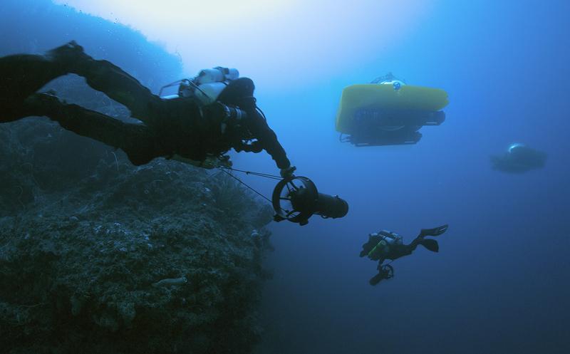 Subs  divers (c) Project Baseline  Nekton