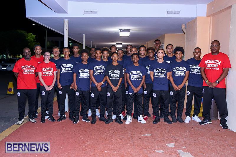 U17 Boys Football Team Bermuda, July 26 2016-1